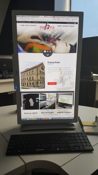 Presentation of the new website